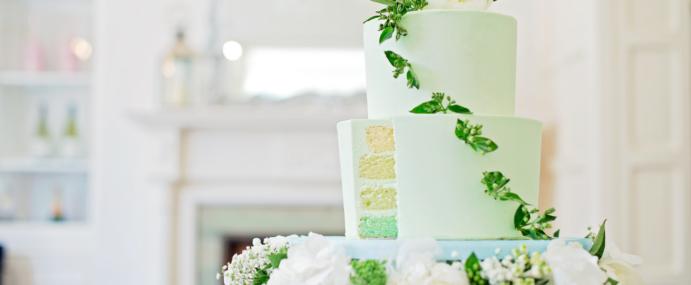 July Wedding Cake Photoshoot